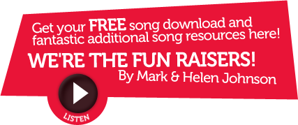 We're The Fun Raisers! - By Mark & Helen Johnson