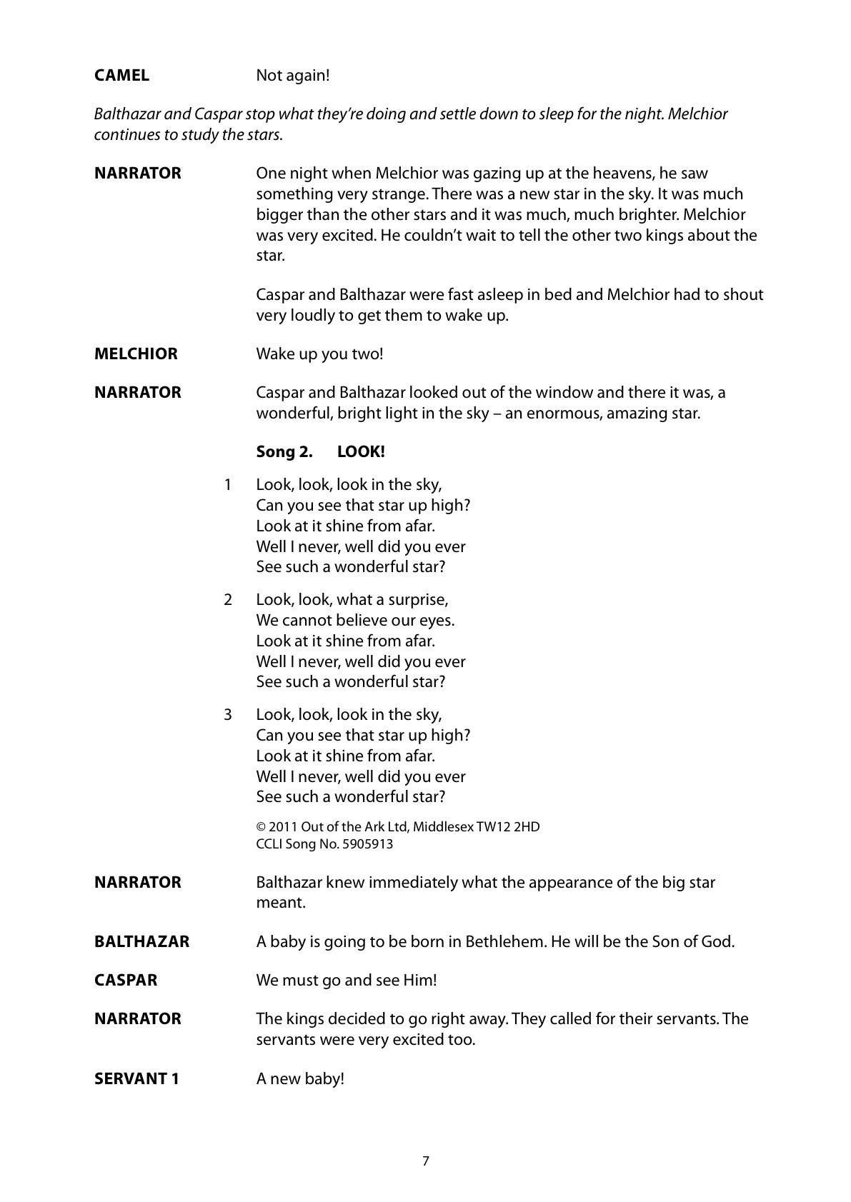Christmas Play Scripts For Schools