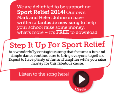 Listen to Step It Up For Sports Relief