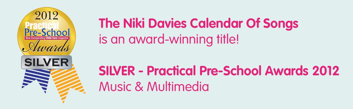 Pps Calendar.The Niki Davies Calendar Of Songs Assembly Songbooks