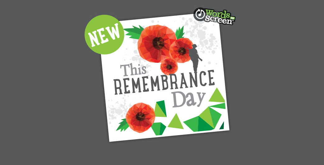 1. This Remembrance Day