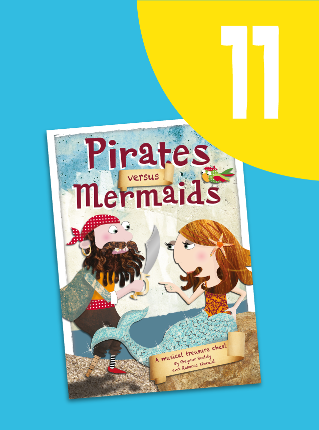11. Pirates Versus Mermaids