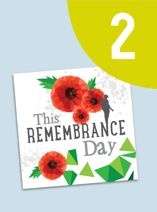 2. This Remembrance Day