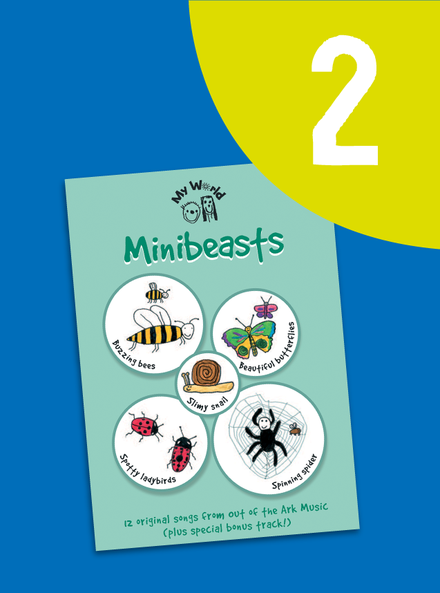 2. My World: Minibeasts