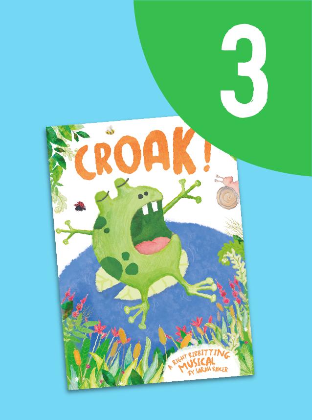 3. Croak!
