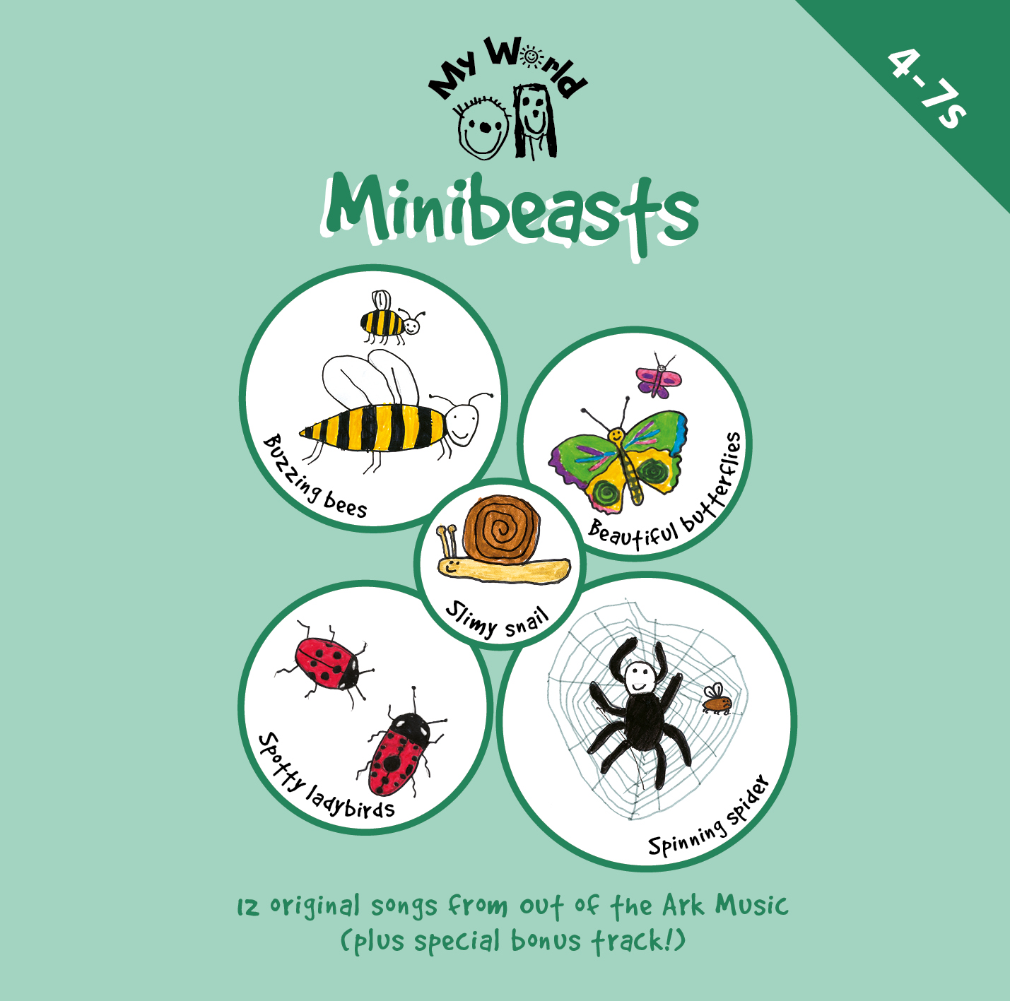 Minibeasts Songbook Out Of The Ark Music