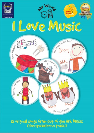 I Love Music | Music Lesson Resource | Out of the Ark Music