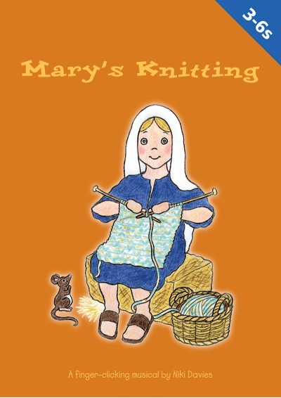 Mary's knitting Primary School Nativity Play
