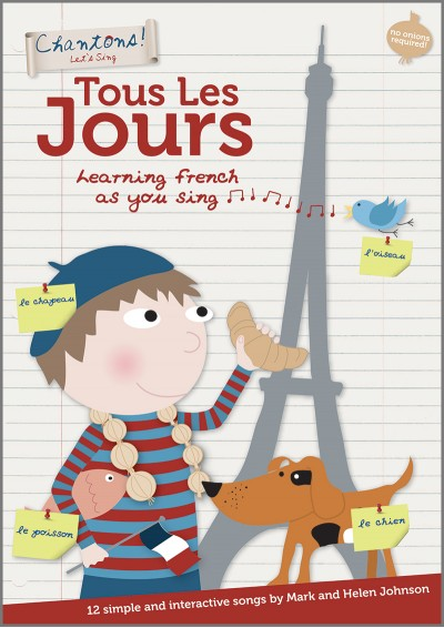 Chantons Tous Les Jours learn french songbook