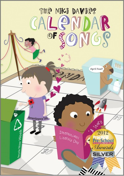 The Niki Davies Calendar of Songs Songbook