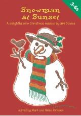 Snowman at Sunset Christmas Play