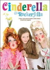 Cinderella and Rockerfella school pantomime musical